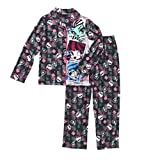 Monster High Two Piece Flannel Pajama Set Long Sleeve