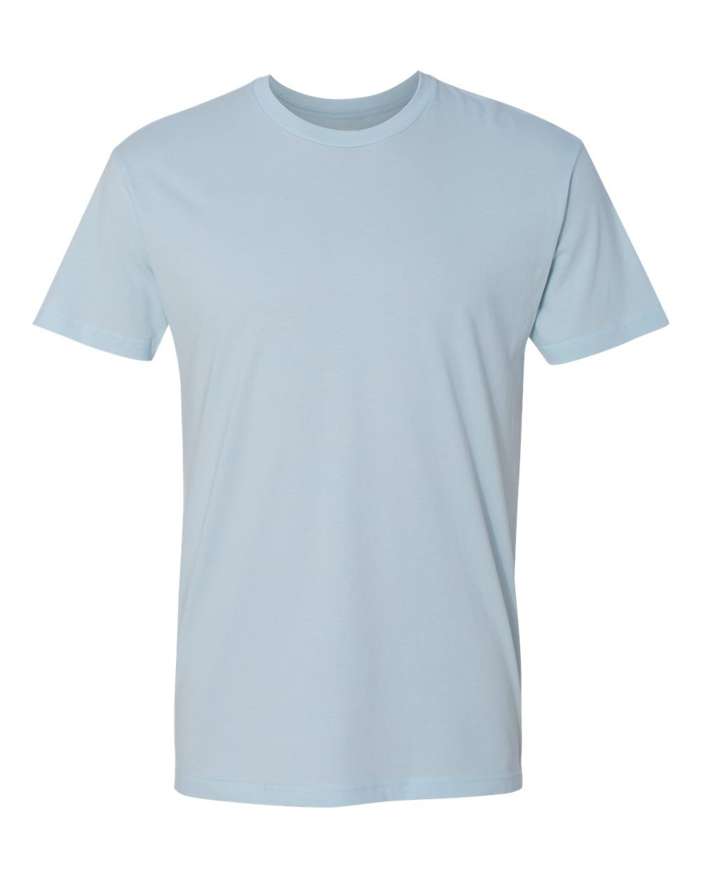 KAMAL OHAVA Men's Premium Cotton T-Shirt, 3XL, Light Blue