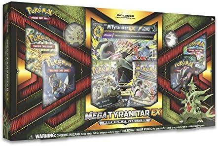 PoKéMoN pok80296 Mega tyranitar-ex Premium – Caja de colección de Juegos de Cartas coleccionables: Amazon.es: Juguetes y juegos