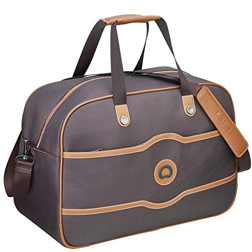 DELSEY Paris Luggage Chatelet Soft Air Weekender Duffel, Chocolate One Size