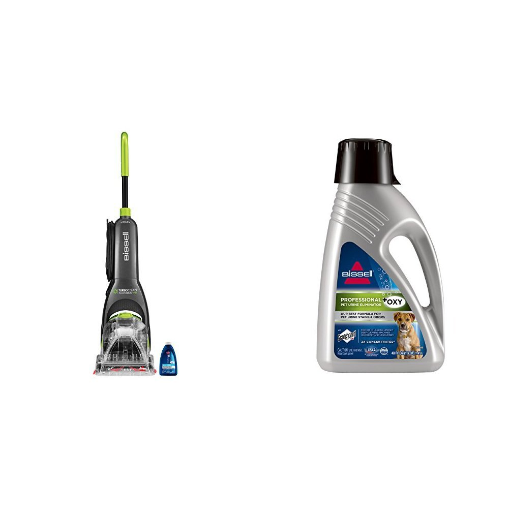 Bissell Powersteamer Powerbrush Carpet Cleaner + Stain Eliminator Formula