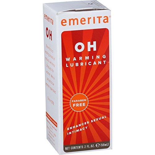 Emerita OH Warming Lubricant - Enhances Sexual Intimacy - Paraben Free - 2 oz (Pack of 2) (Emerita Oh Warming Lubricant)