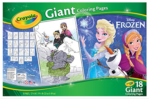 amazon.com: crayola frozen giant coloring pages: toys & games - Selfish Giant Coloring Pages