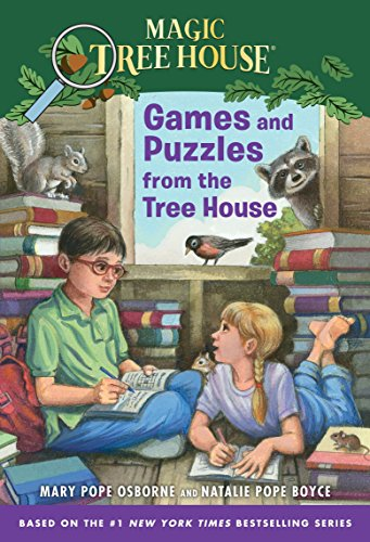 Games and Puzzles from the Tree House: Over 200 Challenges! (Magic Tree House) (Magic Tree House Movie)