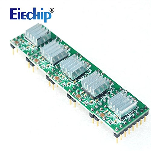 Eiechip CNC 3D Printer Kit for Arduino Mega 2560 R3 + RAMPS 1 4 Controller  + LCD 2004 + 6X Limit Switch Endstop + 5 A4988 Stepper Driver - Best 3d