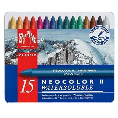 Caran d'Ache Classic Neocolor II Water-Soluble Pastels