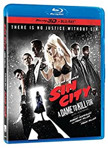 Sin City: A Dame to Kill For [Blu-ray 3D + Blu-ray]