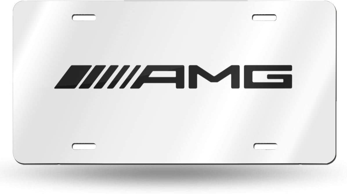 Amg-Logo License Plate Front License Sign Car Tag Decorative Metal Plate