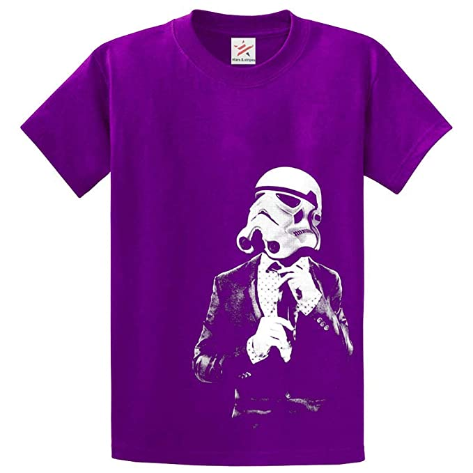 Inspired cool retro Star Trooper tie and suit Printed t shirts ...