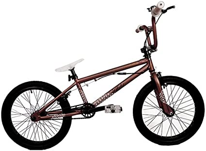 Feral Alibi - Bicicleta BMX freestyle, color marrón: Amazon.es ...