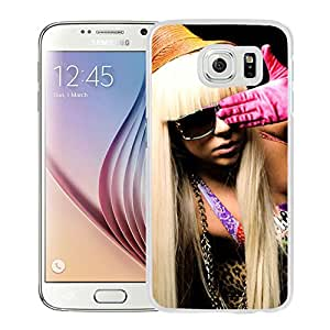 Beautiful Designed Cover Case With Lady Gaga Clothes Armchair Hand (2) For Samsung Galaxy S6 Phone Case