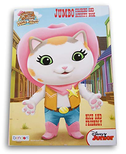 Sheriff Callie Nice and Friendly Coloring and Activity Book - 96 -