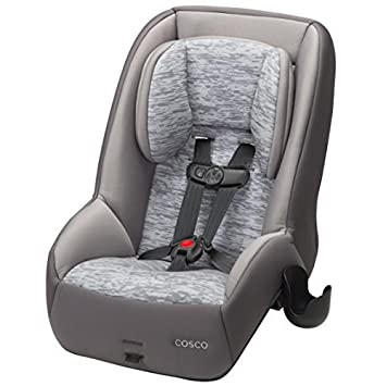 Cosco MightyFit 65 DX Convertible Car Seat Heather Pebble