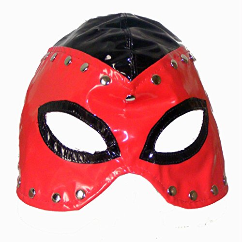 Raycity Leather Costume Gimp Mask Hood Style 15