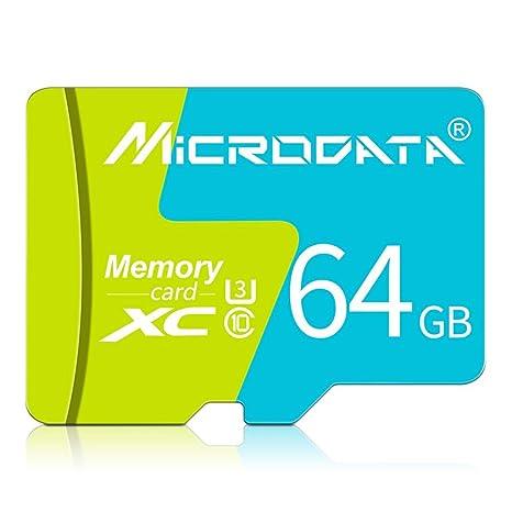 LAY Tarjeta de Memoria Verde Clase 10 SDHC 32 GB 64 GB 128 ...