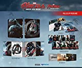 AVENGERS AGE OF ULTRON (3D/2D Blu-ray NOVA FULL SLIP Steelbook; NovaMedia Exclusive FULL SLIP; Only 1000 Worldwide)