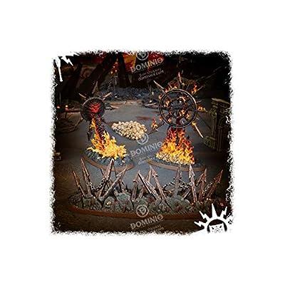 Games Workshop Warhammer Age of Sigmar: Endless Spells: Slaves to Darkness: Toys & Games