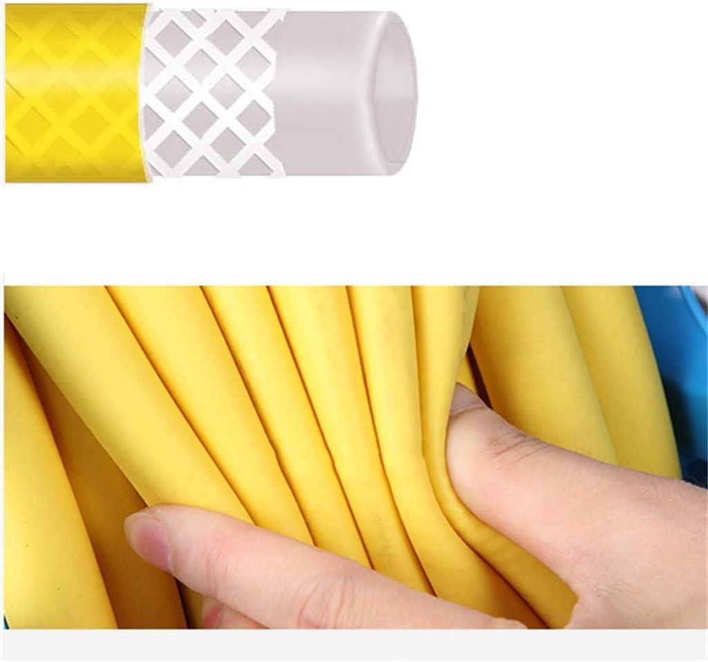 YUSHRO Hose Reel, Garden Outdoor Patios Balconies Water Pipe Storage Rack Portable Compact Hose Reel (Color : A) A+10m Water Pipe