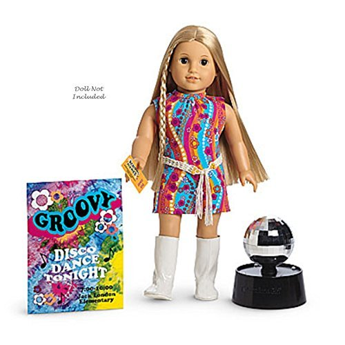 American Girl Musical Doll - American Girl Limited Edition Julie's Dance Party Set With Disco Ball