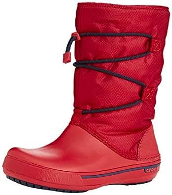 Amazon.com   Crocs Women's Crocband II.5 Cinch Boot   Snow