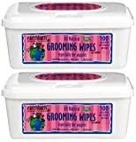 Earthbath 100 Count All Natural Puppy Grooming Wipes (2 Pack)
