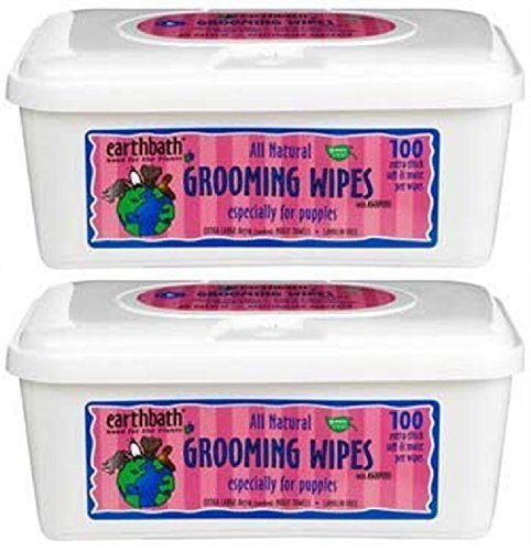 Earthbath Natural Puppy Grooming Wipes product image