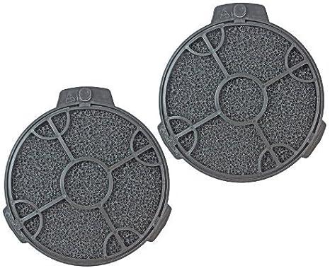 2 x Cooke y Lewis para campana de cocina filtros de filtro de carbón redondo 12,7 cm CARBFILT4: Amazon.es: Hogar