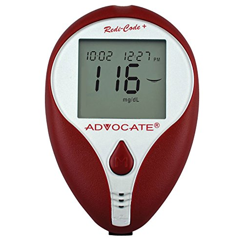 Advocate Redi-Code Plus Non-Speaking BG Meter, Case of 60