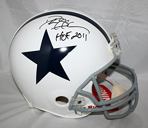 Deion Sanders Signed F/S Dallas Cowboys TB White ProLine Helmet w/HOF- JSA W Auth