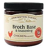 Orrington Farms Chicken Flavored Broth Base & Seasoning, 12 oz (Pack of 6) by Orrington Farms