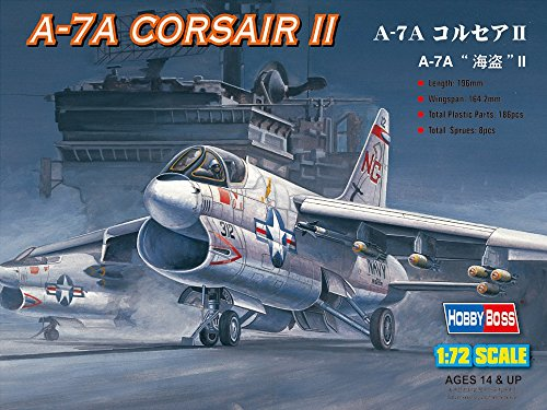 "Hobby Boss A-7A ""Corsair"" II Airplane Model Building Kit"
