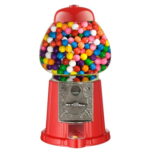 Junior Gumball Machine (Great Northern Popcorn Company Old Fashioned Vintage Candy Gumball Machine Bank, 15-Inch)