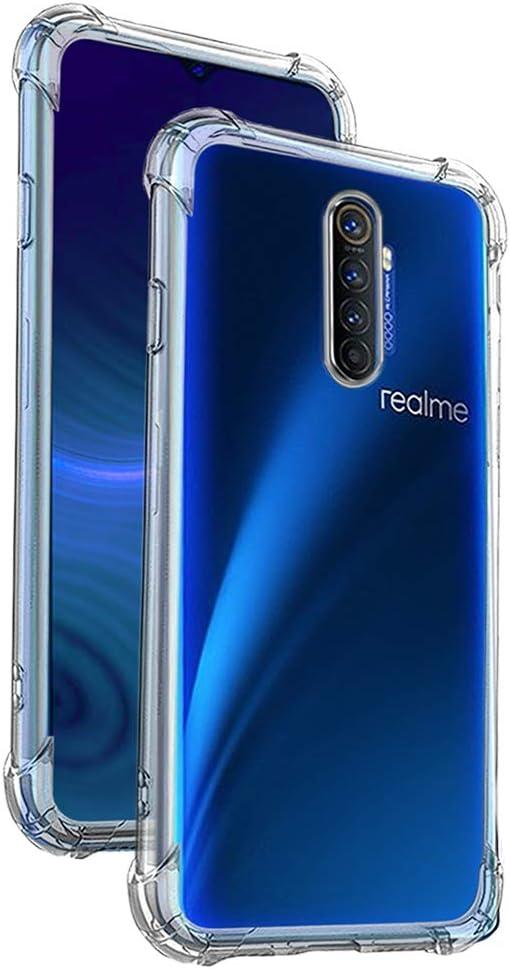 Funda Anti-Shock Gel Transparente para REALME X2 Pro: Amazon.es ...