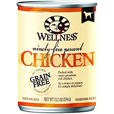 Wellness 95% Chicken Canned Dog Food (13.2 oz (12 in case))