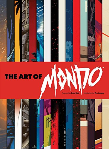 Poster Book Red (The Art of Mondo)