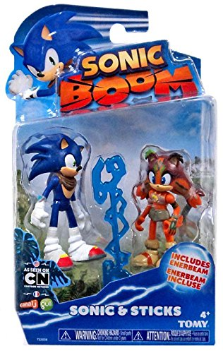 Sonic Boom Small Figure 2 Pack- Sonic & Sticks