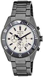 Bulova Men's 98B205 Analog Display Japanese Quartz Gray Watch