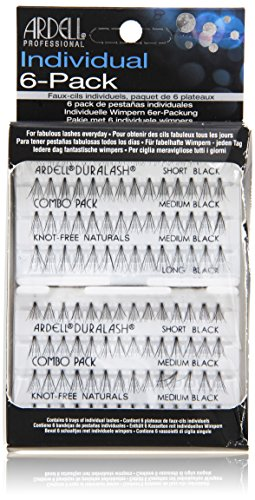 Ardell Individual Lashes, Naturals Combo Black