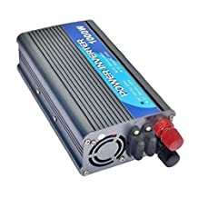 power inverter 1000 Watt DC 24 Volt to AC 220 V converter solar power system With clamps