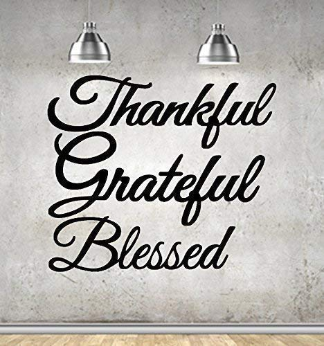 METAL WORDS THANKFUL OR HARVEST WALL SIGN DECORATION YOU CHOOSE