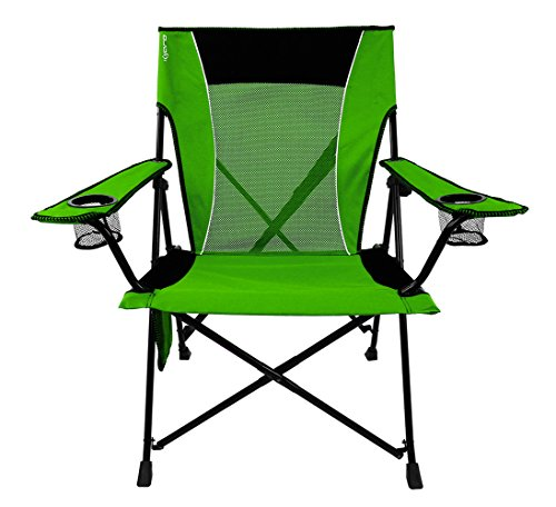 Green Chairs Folding Outdoor - Kijaro  Dual Lock Portable Camping and Sports Chair