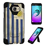 Galaxy A5 (2016) Case, DuroCase Transforma Kickstand Bumper Case for Samsung Galaxy A5 SM-A510 (Released in 2016) - (Uruguay Flag)