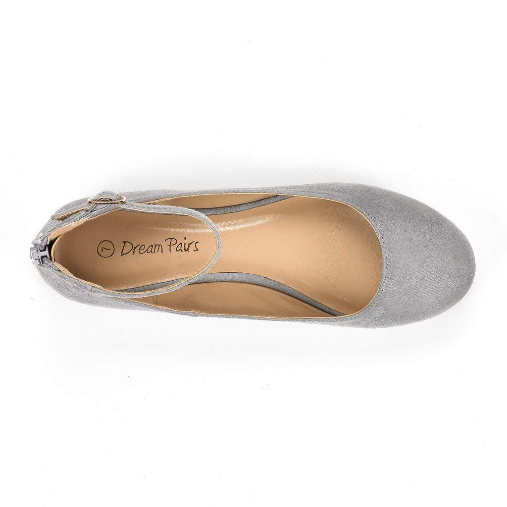 DREAM PAIRS Sole-Nice Damen Ballerinas