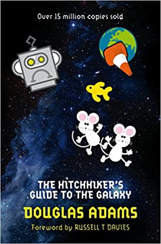 Image result for the hitchhiker's guide to the galaxy books