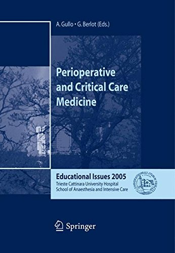 Perioperative and Critical Care Medicine: Educational Issues 2005