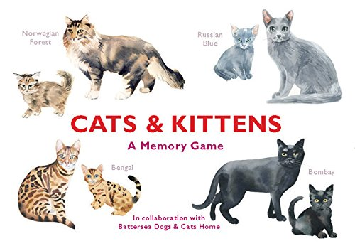 Cats & Kittens: A Memory Game by Chronicle (Image #1)