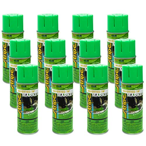 12PK 13oz Seymour Inverted Green Landscaping Construction Marking Paint 16-668 -