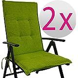 Gartenstuhl-Kissen - Cojines para sillas de jardín, Respaldo ...