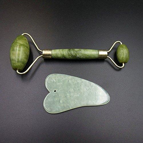 Kratzplatte Clearance , Gua Sha Gesichtsmassage Chinesische Medizin Natural Jade Board Scraping Tool  by Little -
