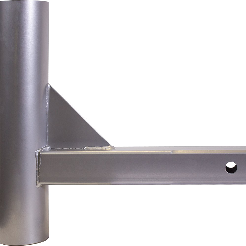 Hitch Mount for Large Diameter Portable Flagpole